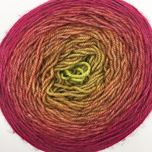 Mustard to red gradient - 435 yards