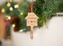 Load image into Gallery viewer, First Home Ornament with Initials and Year