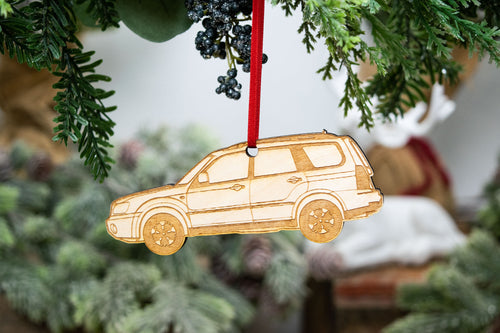 2003 - 2007 Forester Ornament Side View