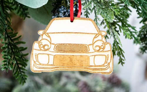 Bugeye WRX Ornament