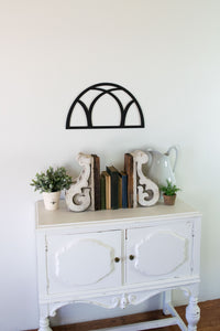 Farmhouse Half Circle Window Arch