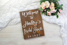 Load image into Gallery viewer, Bridal Shower Welcome Sign