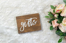 Load image into Gallery viewer, Modern Wooden Gifts Sign