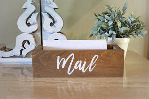 Mail Organization Box