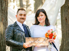 Load image into Gallery viewer, We Eloped Sign