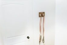 Load image into Gallery viewer, Woof Dog Leash Holder for Two Leashes