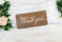 Load image into Gallery viewer, Wedding Thank You Sign