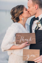 Load image into Gallery viewer, Wedding Thank You Signs