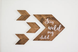 Woodland Stay Wild My Child Nursery Set