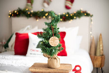 Load image into Gallery viewer, Our First Christmas As Mr and Mrs Ornament with Last Name and Year