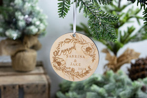 Engagement Announcement Ornament