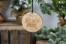 Load image into Gallery viewer, Our first Christmas in our New Home with Address Ornament, Housewarming Gift
