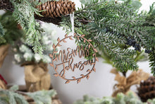 Load image into Gallery viewer, Newlywed Chistmas Ornament, Mr and Mrs Ornament