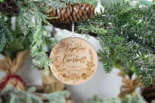 Load image into Gallery viewer, We Are Expecting Ornament, Baby Announcement Ornament