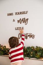 Load image into Gallery viewer, Farmhouse Christmas Decor, Have Yourself A Merry Little Christmas Wall Hanging