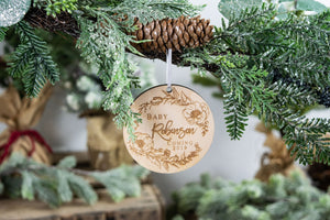 Pregnancy Announcement Ornament