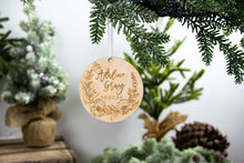 Load image into Gallery viewer, Baby Name Ornament