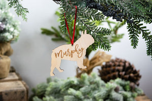 French Bulldog Ornament, French Bulldog Gift