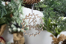 Load image into Gallery viewer, Newlywed Chistmas Ornament, Family Ornament