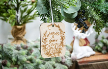 Load image into Gallery viewer, Personalized Couple Name Christmas Ornament - Couple Gifts