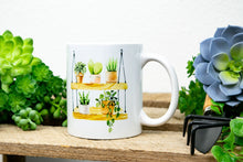 Load image into Gallery viewer, Sometimes I Wet My Plants Mug - Plant Lover Gift