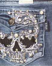Load image into Gallery viewer, Badass Skull Jeans