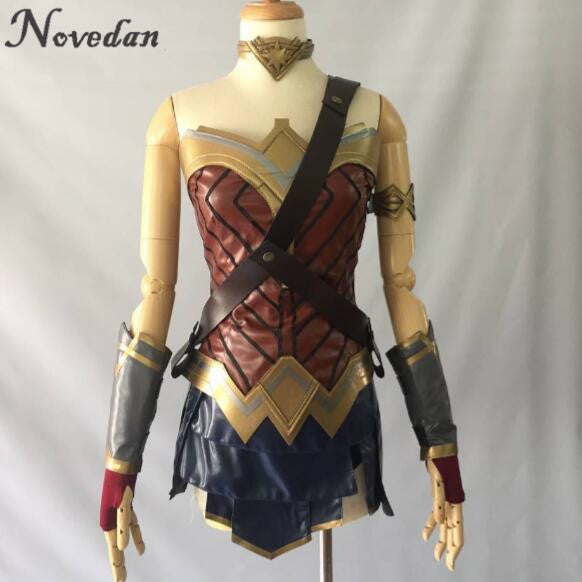 Cosplay-Costume-Top-Skirt-Armband-Shoulder-Strap-Headband