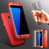 360 Luxury Full Shockproof Non-slip Case Cover for Samsung