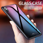 iPhone Case - Luxury Tempered Glass Phone Case For iPhone