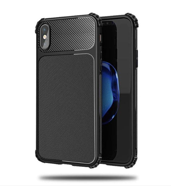 iPhone Case - Gasbag Anti fall Cover Grind Synthetic Carbon Fiber Phone Bag Shell