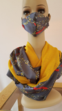 Infinity Scarf Gift Set= Autumn Gold
