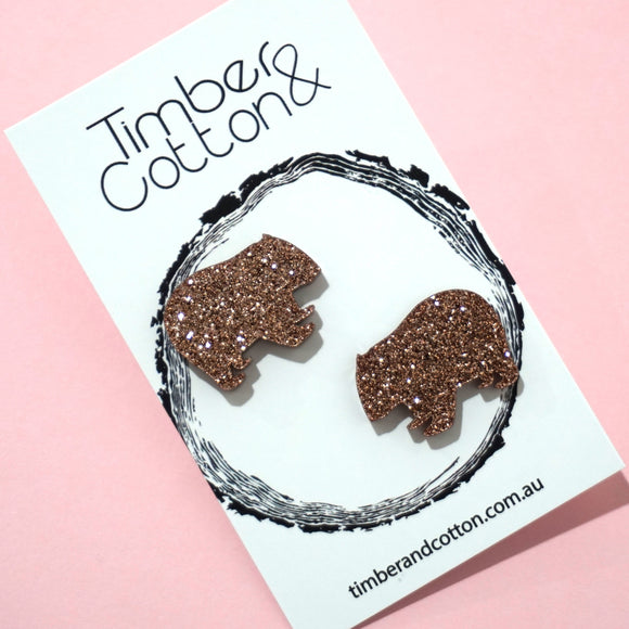 Wombat Statement Studs