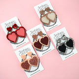 Heart Stack Dangles
