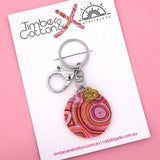 Rainbow Warrior Keyring - Timber & Cotton + Natalie Jade