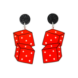 Dice Dangle Earring - Timber & Cotton