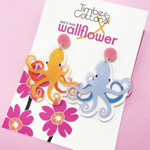 Ursula Octopus Dangles- Collaboration with She's That Wallflower
