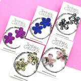 Flower Statement Studs
