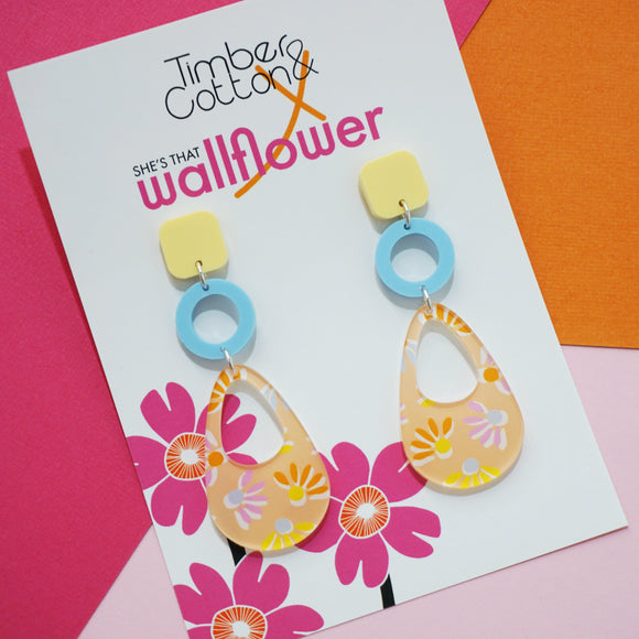 Pretty in Pastel- Collaboration with She's That Wallflower