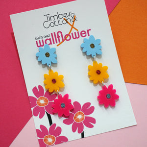 Sunshine Blooms- Collaboration with She's That Wallflower