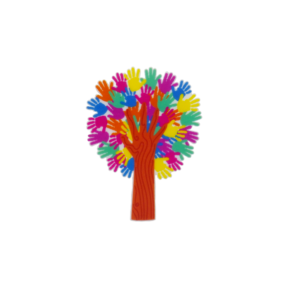 Harmony Day 'Tree of Hands' Brooch