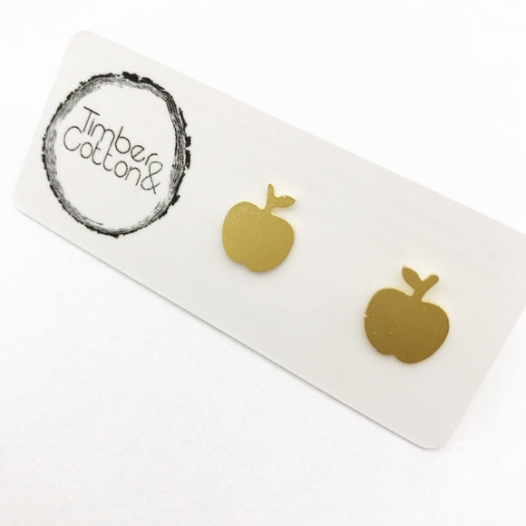 Apple- Gold Metallic