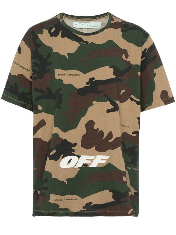 Camouflage Tee Embroidered