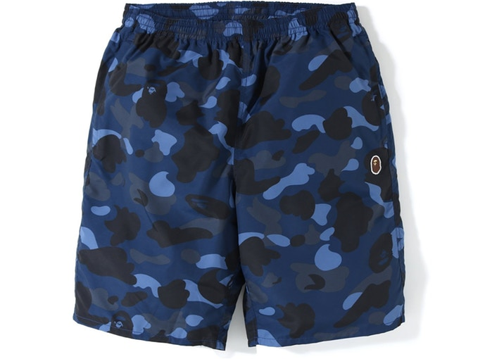 Color Camo Beach Shorts