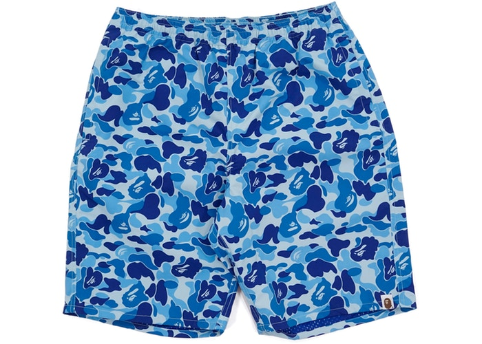 ABC Camo Beach Shorts Light Blue