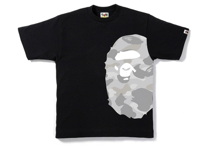 Color Camo Side Big Ape Head Tee
