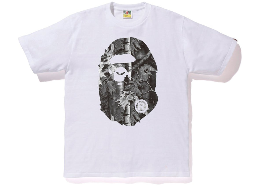 Forest Camo Big Ape Head Tee