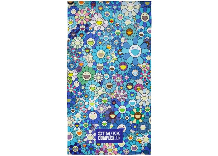ComplexCon Blue Flower Towel