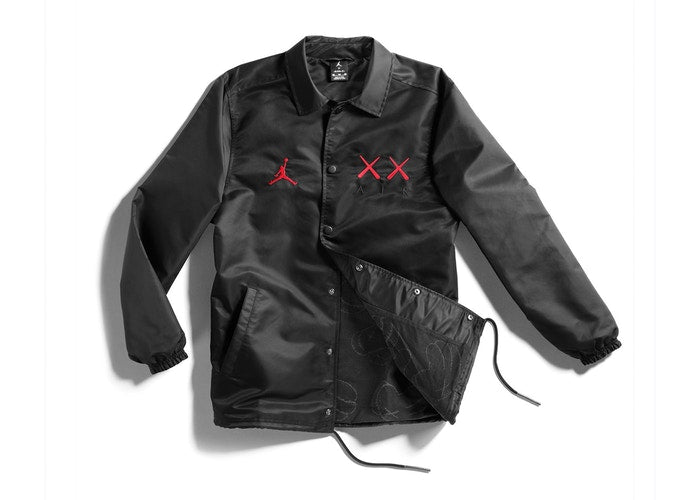 Kaws x Jordan Satin Coaches Jacket