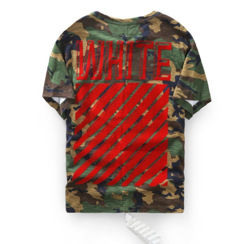 Camouflage All Over Red T-Shirt