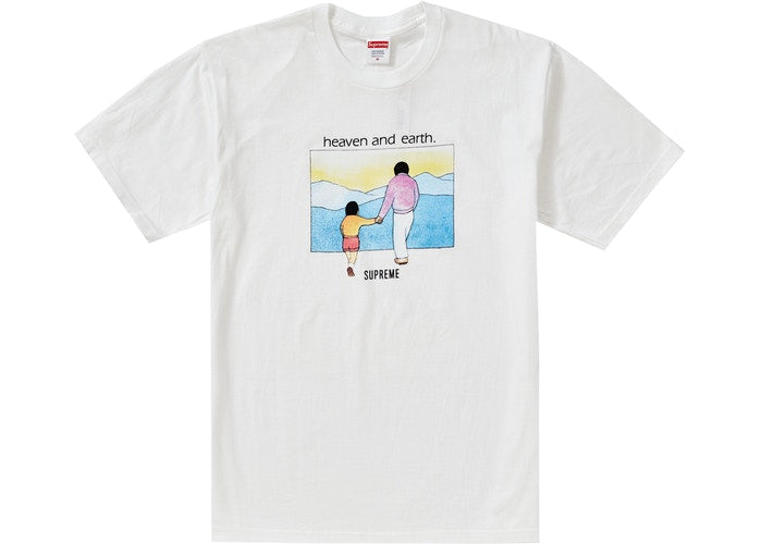 Heaven And Earth Tee White